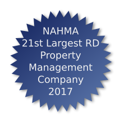 NAHMA 21st Largest Rural Development Property Management Company